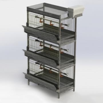Клетка для выращивания молодняка птицы КМП-М-1.1-00.000